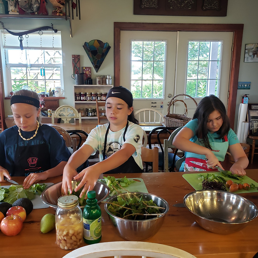 Kids Can! Cook Camp - K - 5 (Session 1)