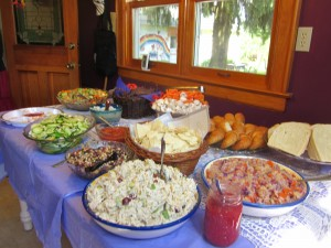 Graduation Party Buffet