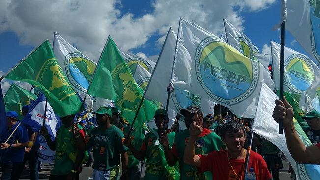 greve 24 maio marcha classe trabalhadora sindicato federação rio de janeiro