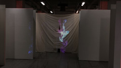 Video mapping on clothes