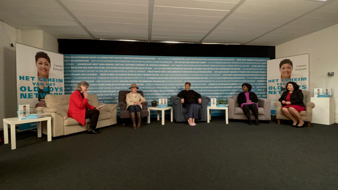 Vijf topvrouwen in gesprek over het boek 'Het geheim van het old boys network'