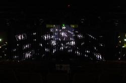 Video mapping met 5 projectoren