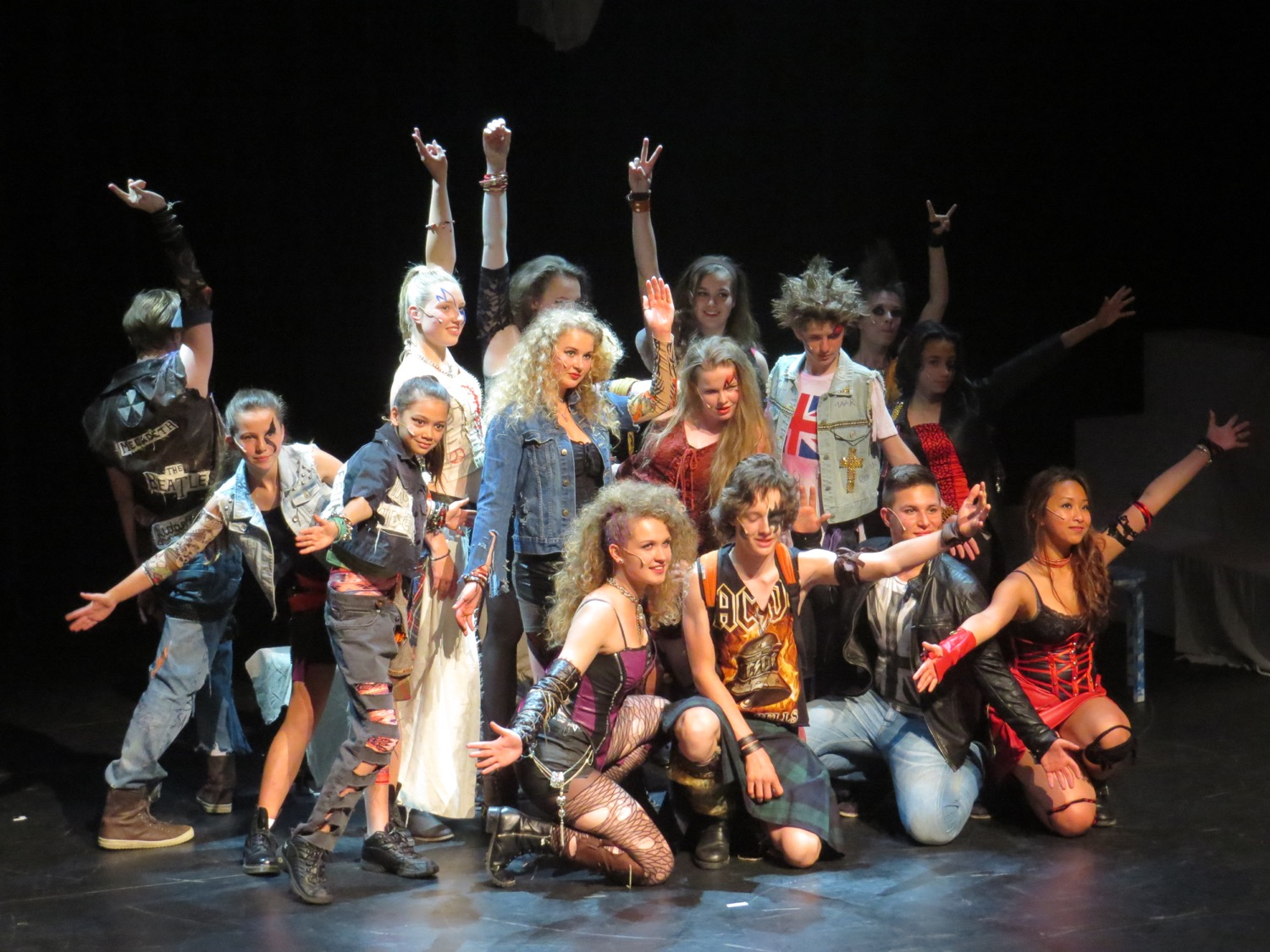Musical WWRY, 2014 - Bohemians costume