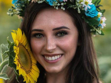 Sunflower Boho Bridal SSWPCA - Amorour Photography