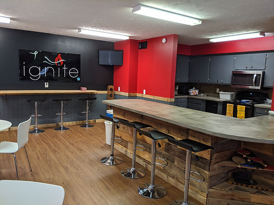 Ignite youth kitchen