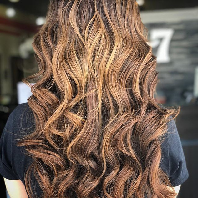 Gorgeous Balayage Ombré color by Linda #