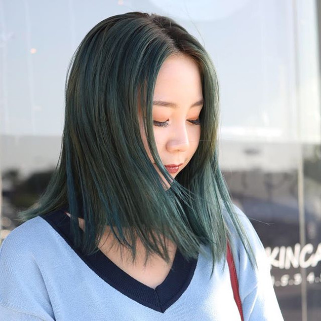 Emerald Green 💕💕 Done by : @rt7_linda