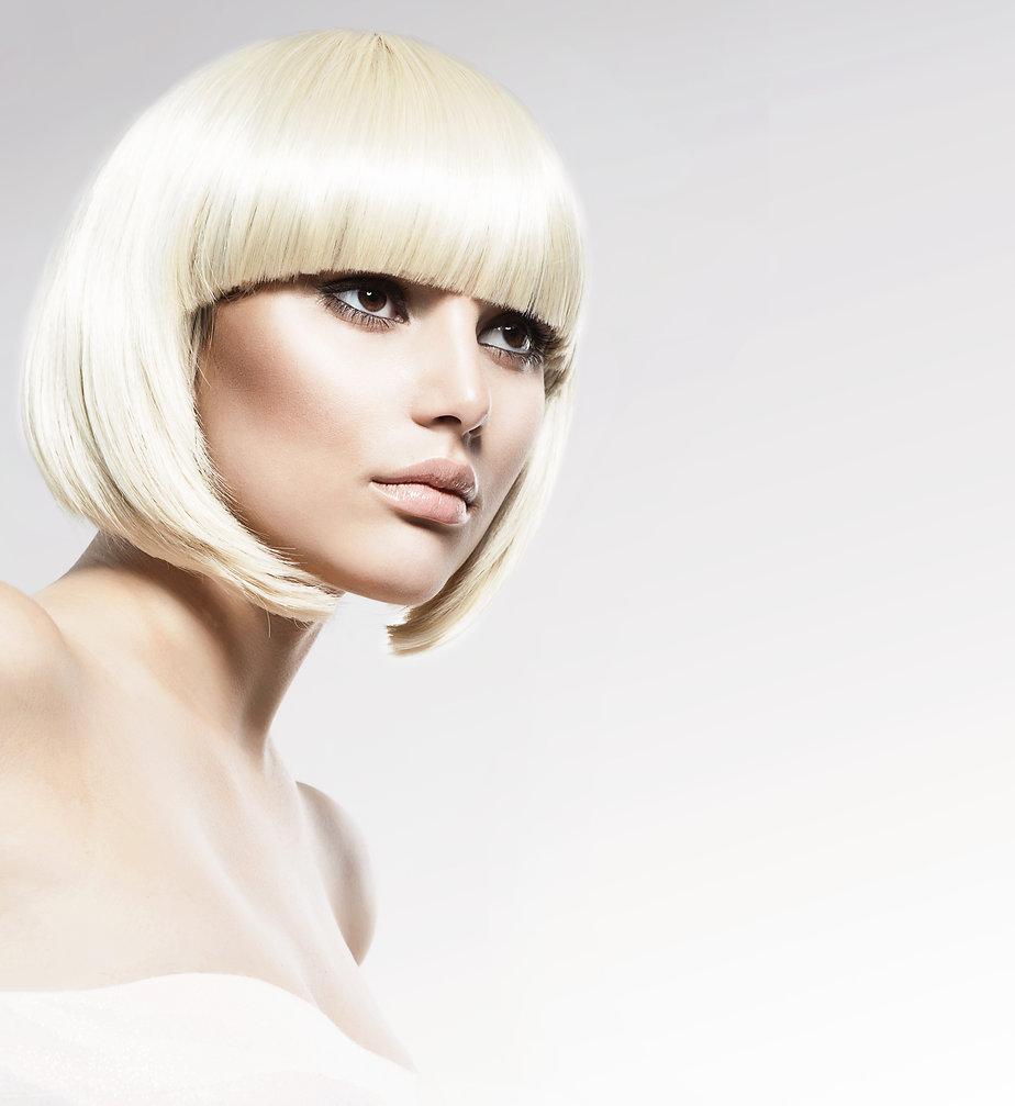 Vogue Style Beauty Fashion Model Portrai