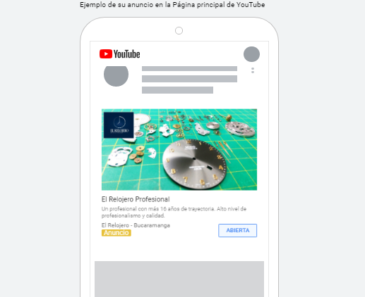 Anuncios de Google y youtube - Marketing