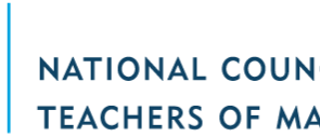 National Council of Teachers of Mathematics Annual Meeting and Exposition 2019