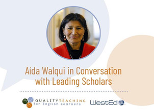 Join Us for an Online Series: Aída Walqui in Conversation with Leading Scholars