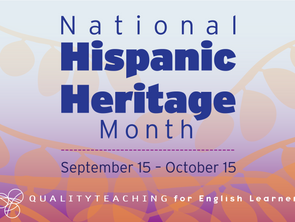 A Note on National Hispanic Heritage Month