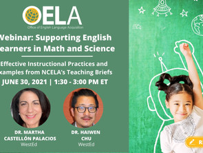 Supporting English Learners in Math and Science