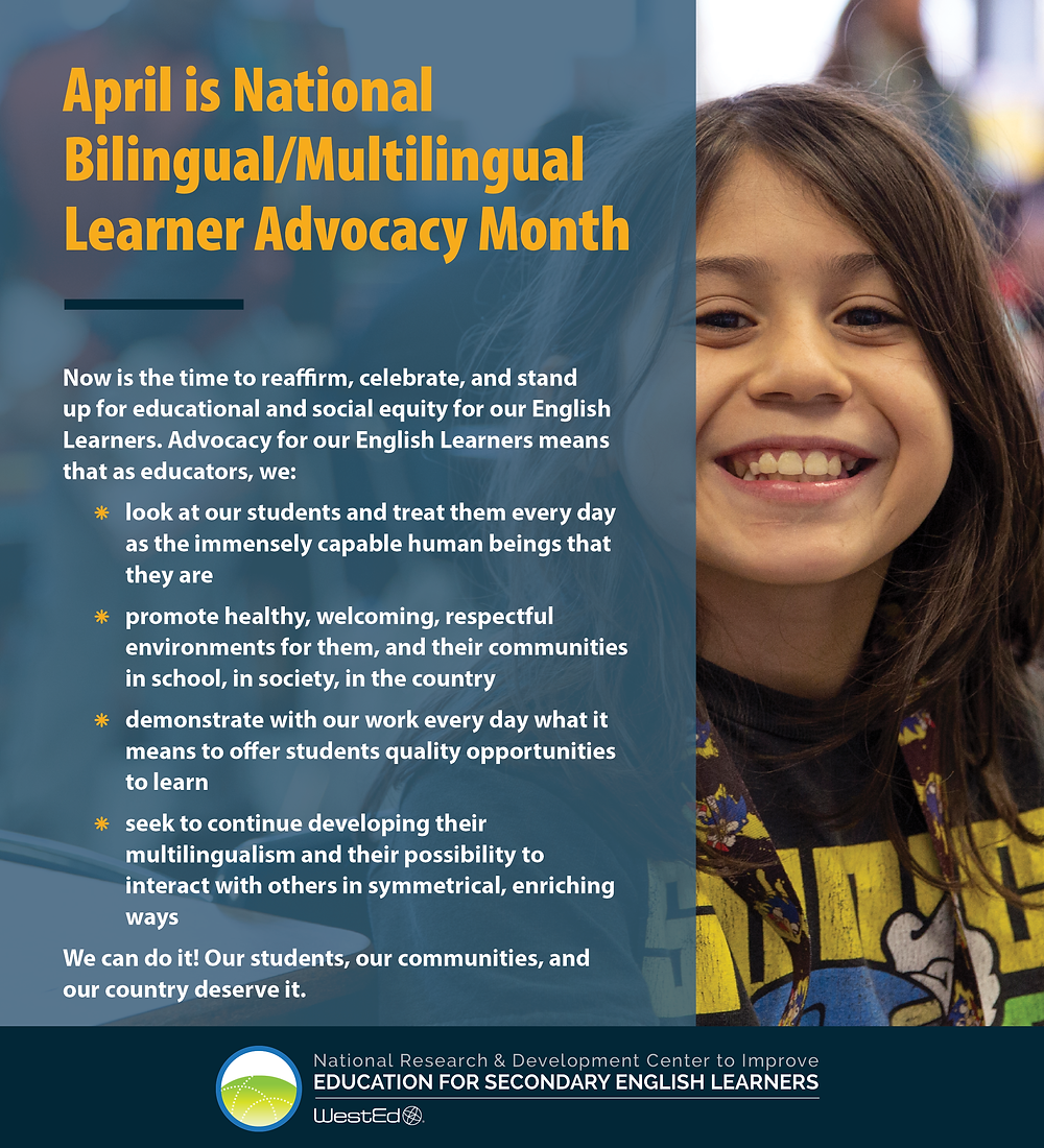 National Bilingual/Multilingual Learner Advocacy Month 3