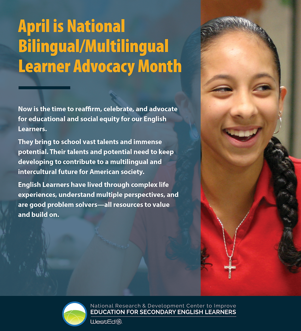National Bilingual/Multilingual Learner Advocacy Month 1