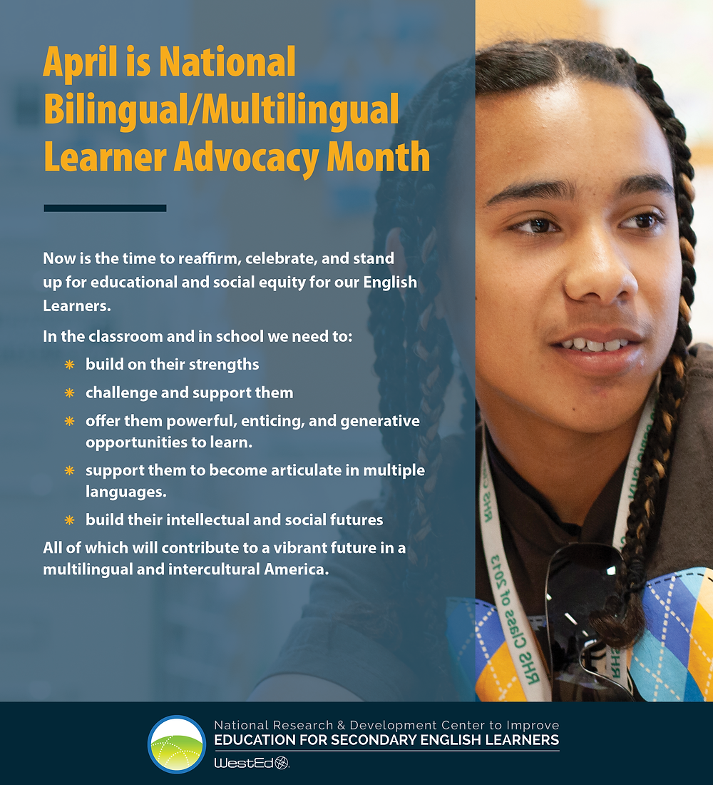 National Bilingual/Multilingual Learner Advocacy Month 2
