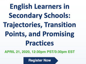 English Learners in Secondary Schools:  Trajectories, Transition Points, and Promising Practices
