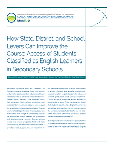 How State, District, and School Levers C