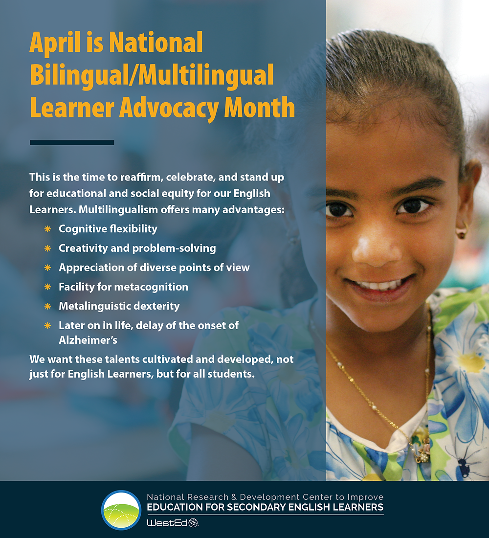 National Bilingual/Multilingual Learner Advocacy Month 4