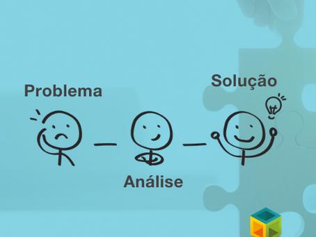 A simples mas eficiente rota problema-análise-solução