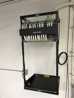 Small Medium Office Network Rack