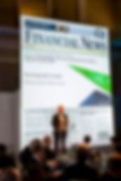 Financial News awards ceremony
