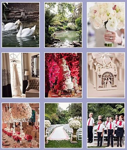 Hotel Bel Air Extravagant Wedding Grid.j