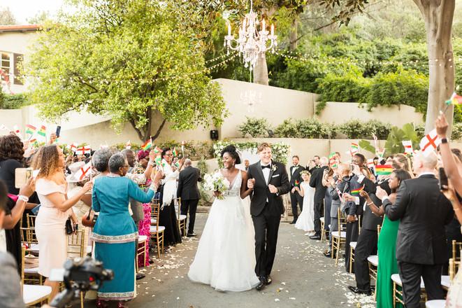Ghanaian Los Angeles Wedding Planner Del
