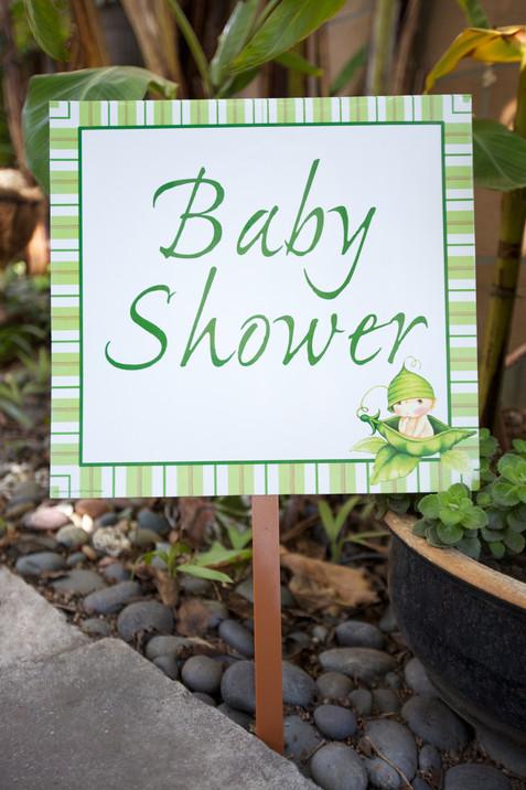 Delmar Events Unisex Baby Shower Pea Los
