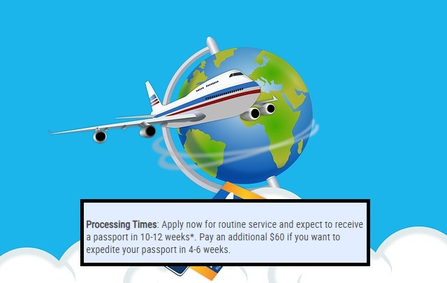 airplane circling globe