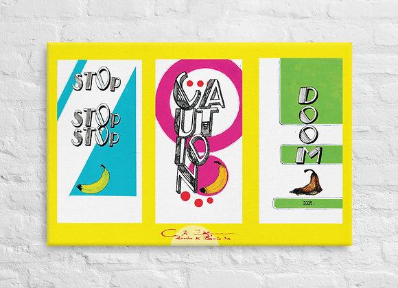 three BAH NA NA NA NA NA NA Canvas Prints