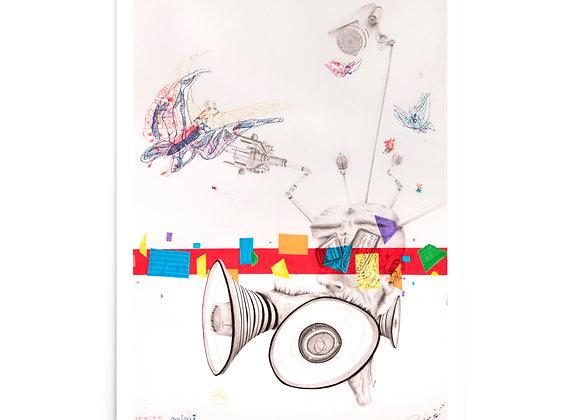 En/Untitled art print