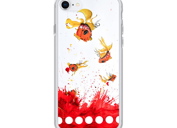 disposable goldfish iPhone Case