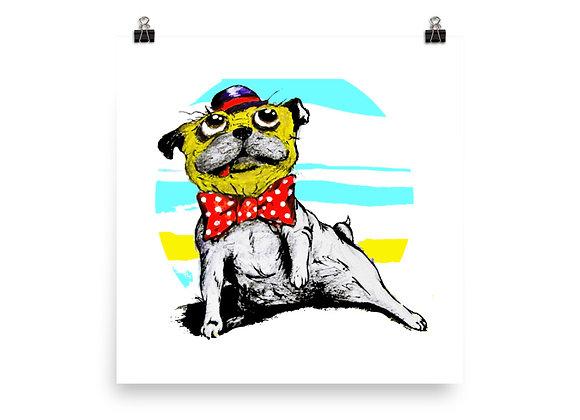 pugy art print