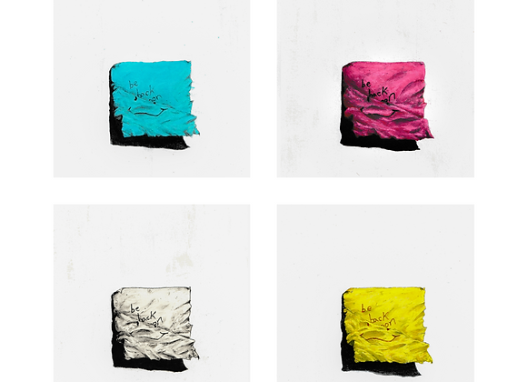 Out of Ink: CMYK
