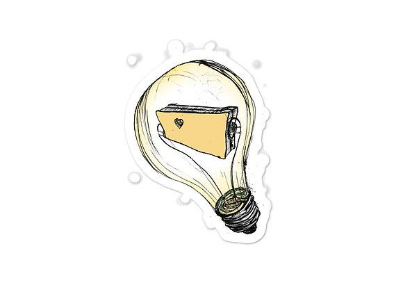 ND bulb sticker