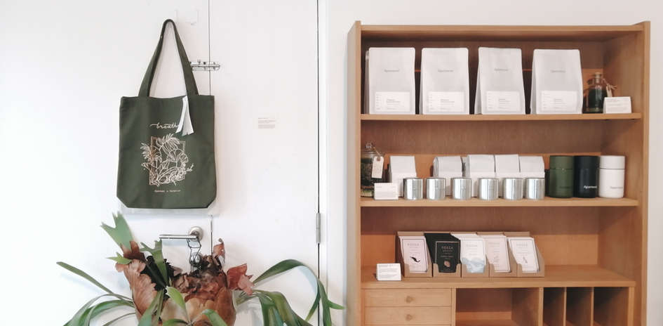Apartment Coffee Tote Bag Collab
