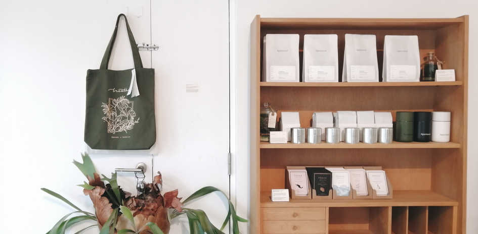 Apartment Coffee Tote Collab