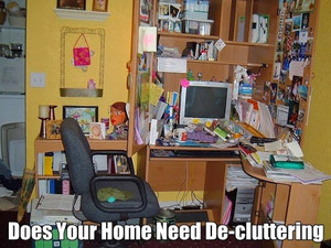Five Steps to a Clutter Free Home