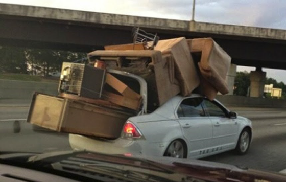 Moving Doesn't Need To Be Like This....Call The Professionals