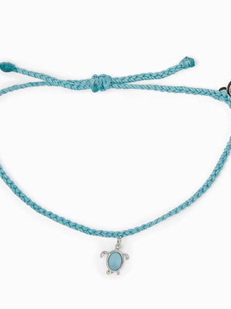Silver save the Sea Turtles charm