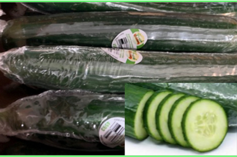 Hot House Cucumbers (USA)