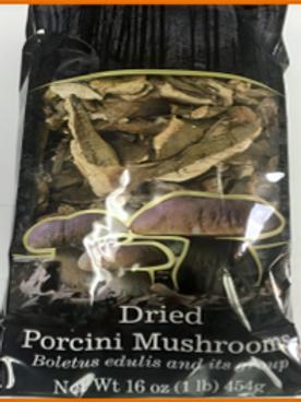 Italian Dried Porcini Mushrooms (1 lb)