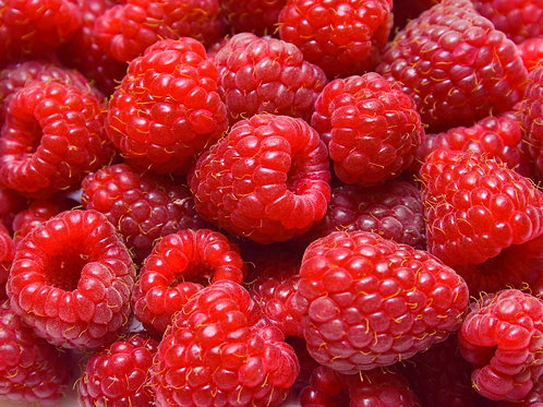 Raspberries (Three 6 oz baskets) - Price TBD