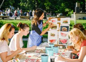 Большой летний фестиваль О, да! Еда! В Москве на Красной пресне.