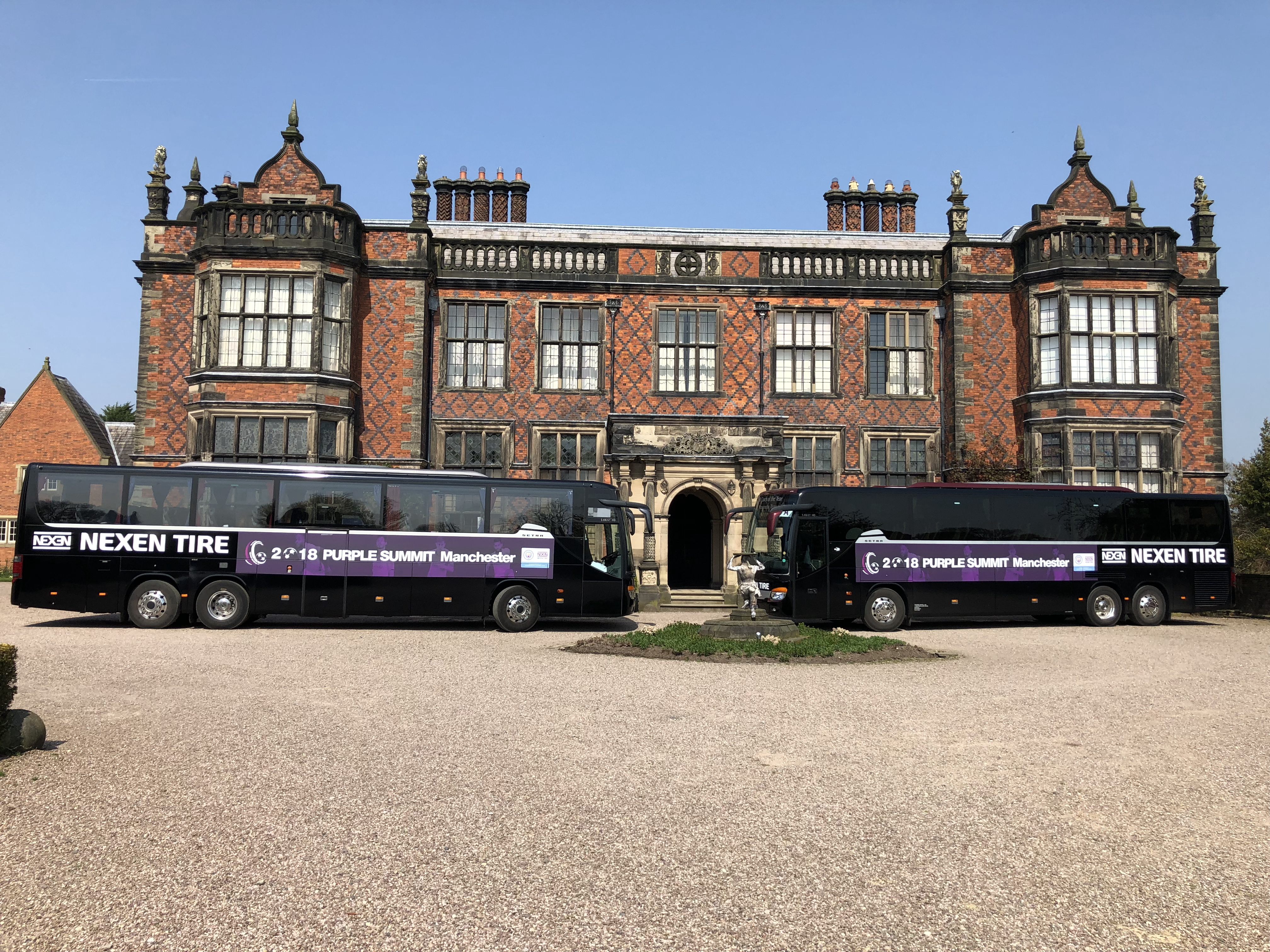 Sounds Travel Coach Rochdale - Nexen Branded