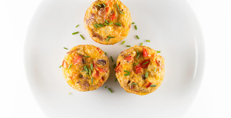 3-Ingredient Egg Muffins
