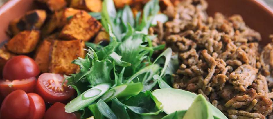 Beef And Sweet Potato Taco Salad