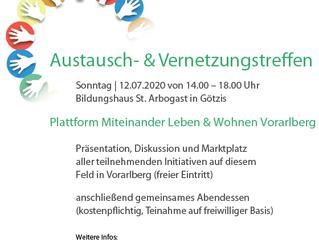 EINLADUNG zum Austausch & Vernetzungstreffen in St. Arbogast!
