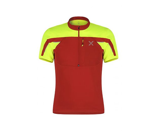 MONTURA HIGH ZIP 2 T-SHIRT